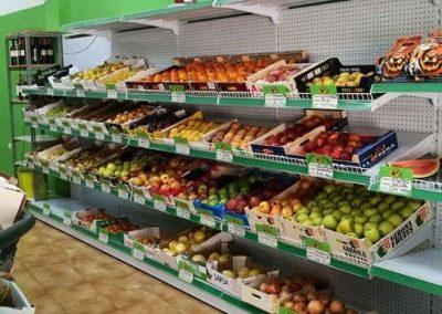 estanteria de fruteria